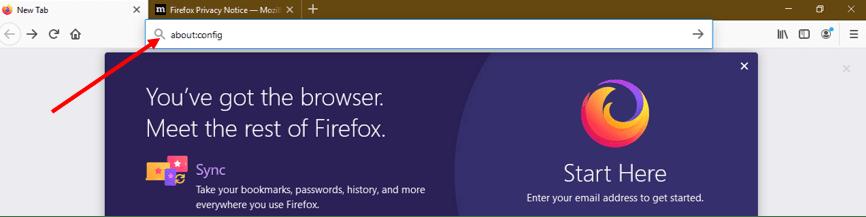 JavaScript on Firefox