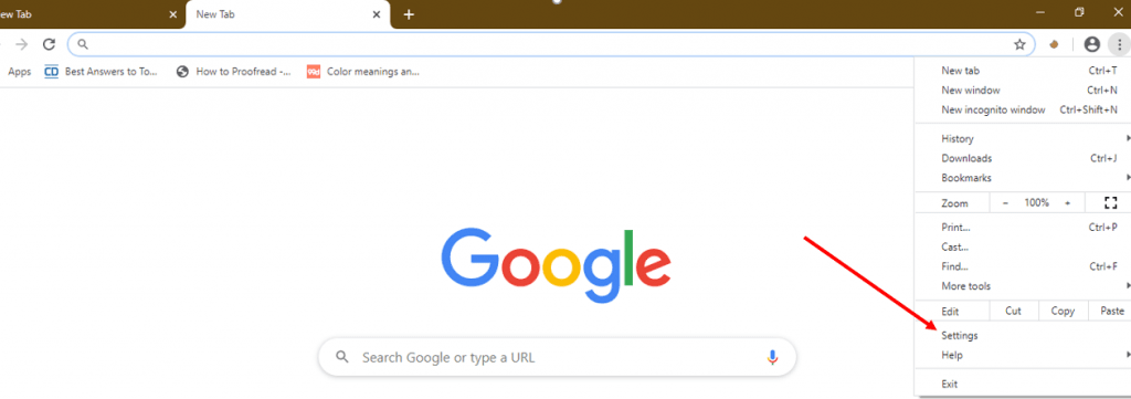 JavaScript on Google Chrome 2