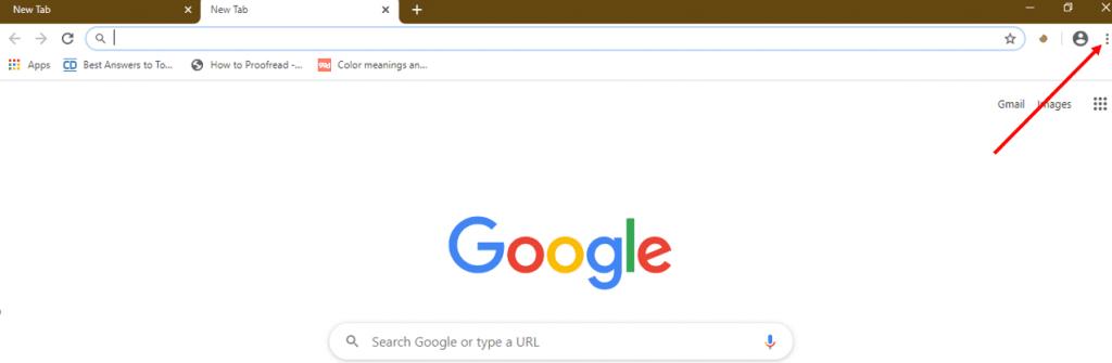 JavaScript on Google Chrome 1